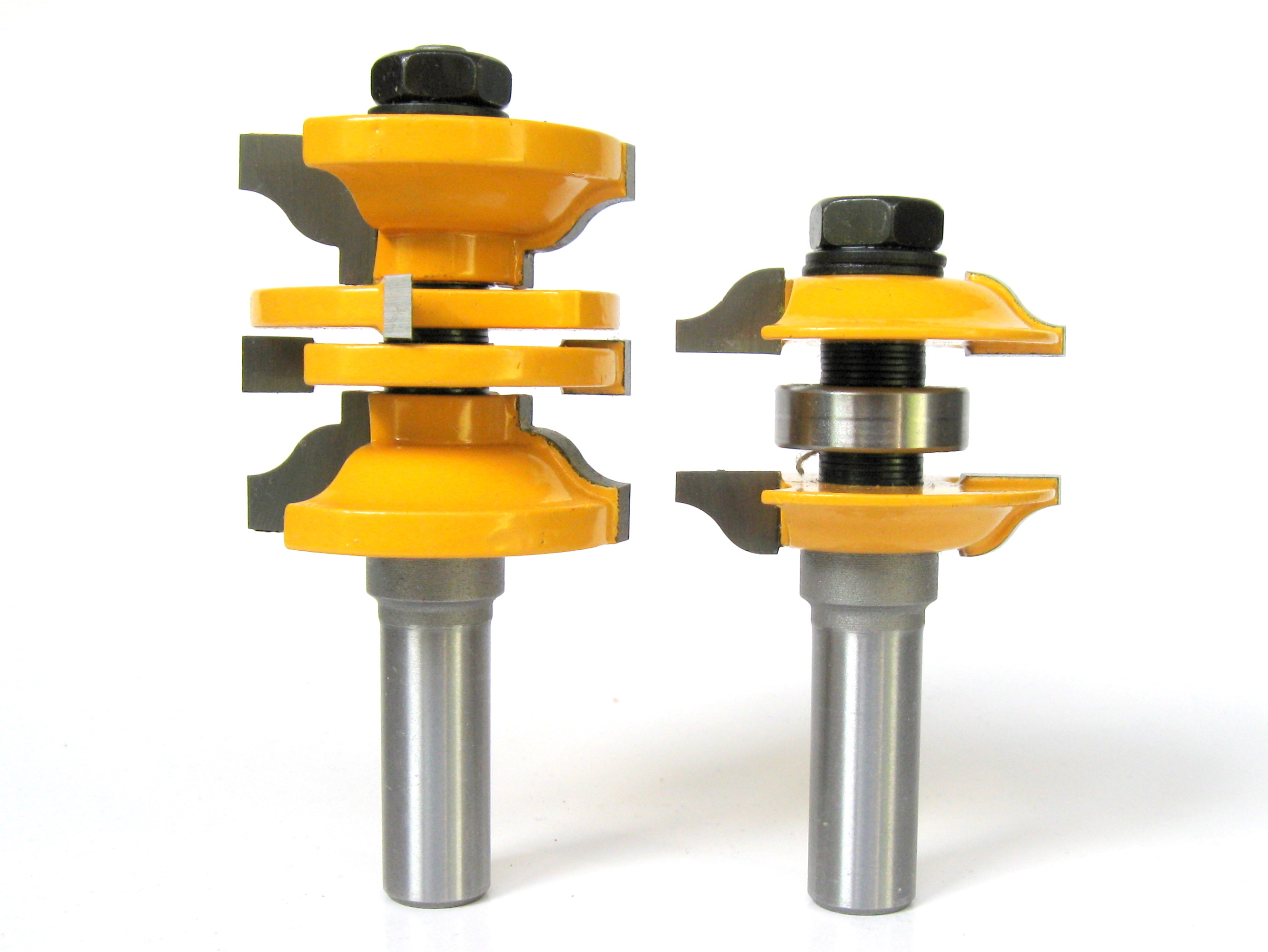 2 Pc 1 2 Sh Entry Interior Door Ogee Matched R S Router Bit Set S 7426923963094 Ebay