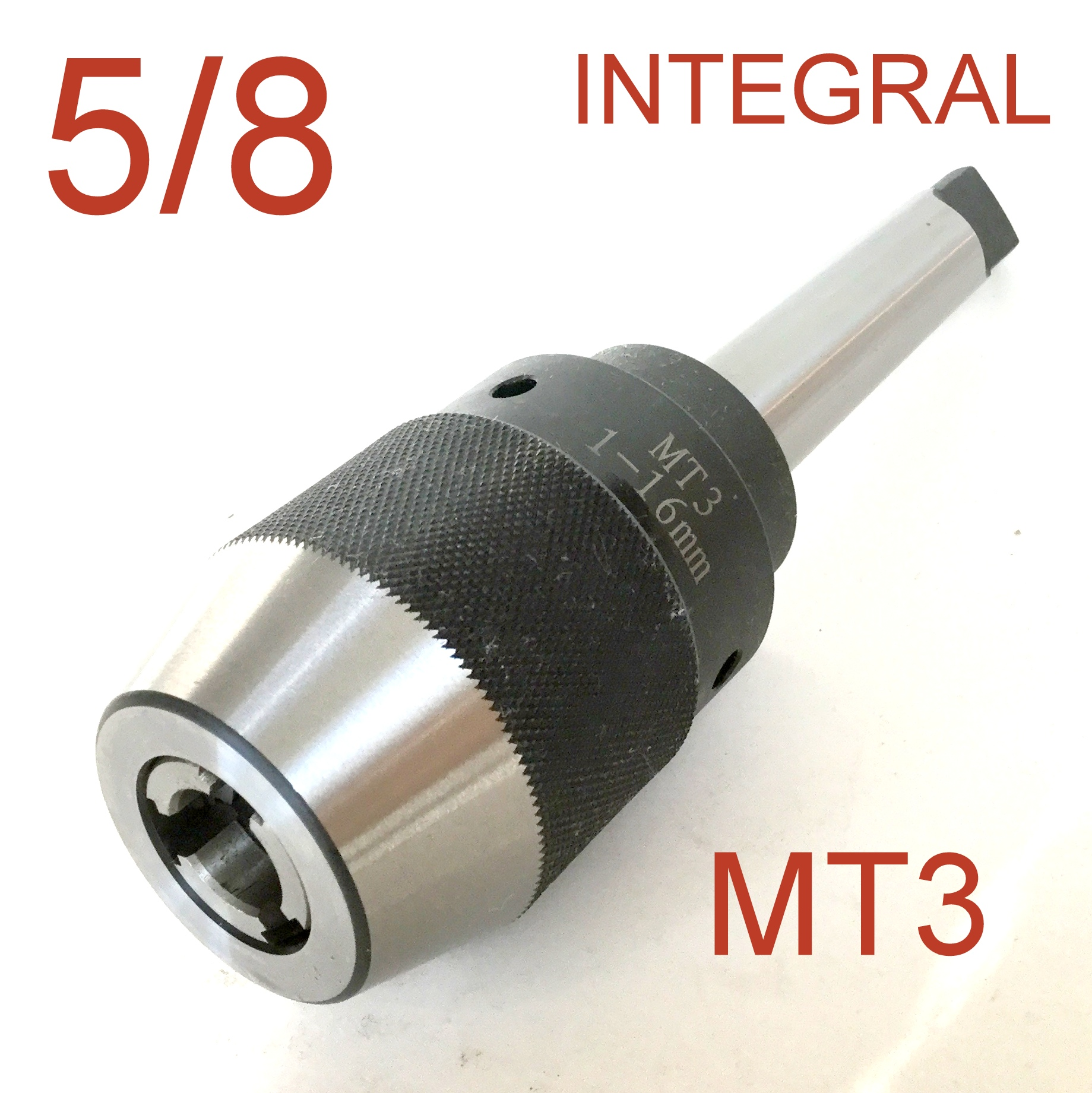 "5//8/"" Drill Chuck Self Tighten With JT6 6JT Mount for CNC 1 pc Keyless 1//32/"""